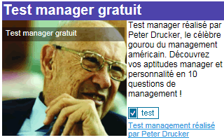 Test manager gratuit